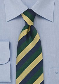 Three Toned Regimental Tie