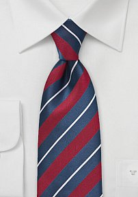 Luxury Edition Red, White and Blue Tie