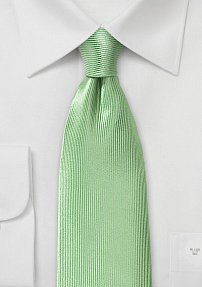 Corduroy Silk Tie in Tea Green