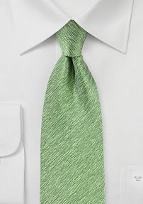 Sweet Pea Green Summer Silk Tie