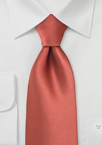 Cognac Color Mens Tie