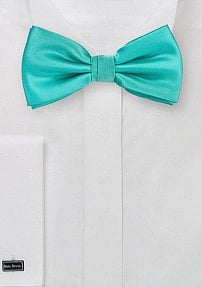 Bright Mint Green Mens Bowtie