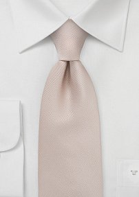 Mens Tie in Apricot Mist Color