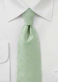Solid Tie in Light Cypress Green