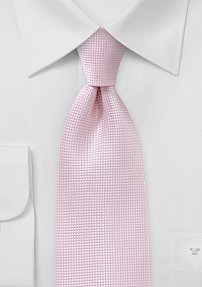 Men's Tie in Soft Pink