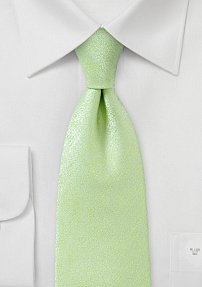 Mens Heathered Tie in Lime