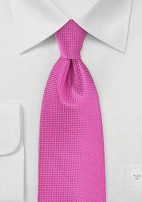 Vibrant Tie in Paradise Pink