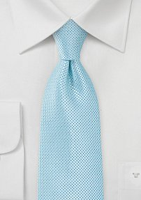 Soft Mint Colored Summer Tie