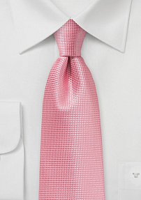 Bright Summer Tie in Flamingo Pink