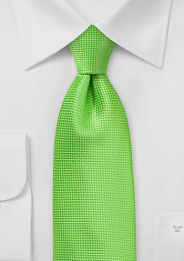 Tropical Green Colored Summer Tie