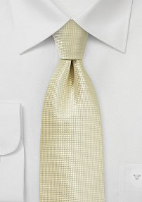 Wedding Tie in Formal Champagne