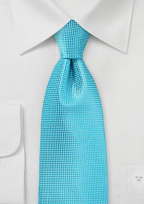 XL Tie in Bright BlueBird Color
