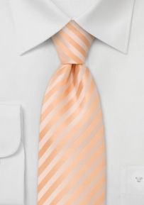 Elegant Mens Tie in Pastel-Peach