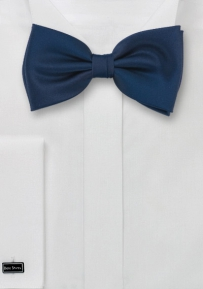 Solid Dark Royal Blue Bow Tie