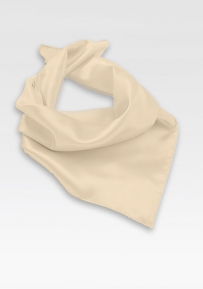 Solid Cream Colored Scarf
