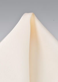 Formal Cream Color Handkerchief