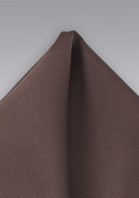 Coffee Brown Handkerchief