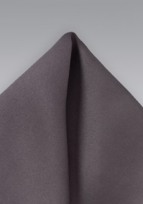 Solid Gray Handkerchief