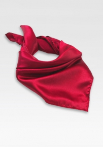 Womens Scarf in Cherry Red
