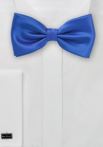 Solid Mens Bow Tie in Dodger-Blue