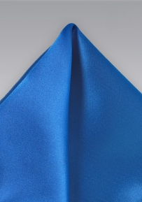 Solid Hued Handkerchief  in Bright Blue