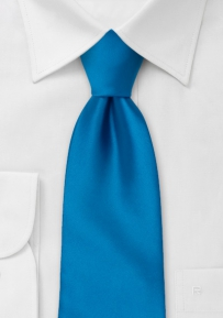 Solid Mens Tie in Dodger-Blue