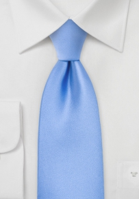 Solid XL Tie in Bright Sky-Blue