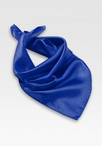 Womens Scarf in Azure Blue