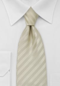 Mens Necktie in Vanilla-Cream