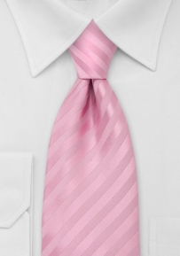 Mens Neck Tie in Rose-Pink