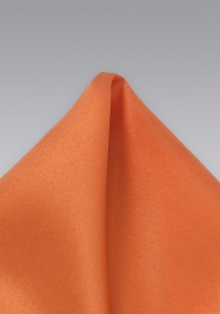Persimmon Orange Handkerchief