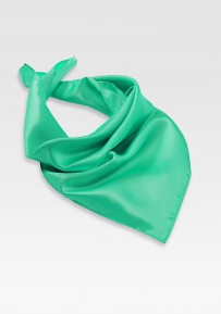 Neck Scarf in Jade Green