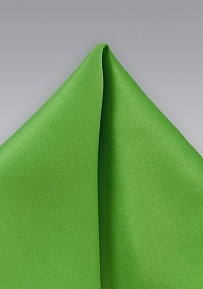 Mens Handkerchief in Grass Green