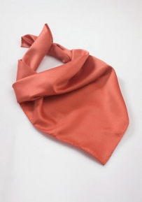 Women's Scarf in Coral Red