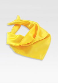 Solid Color Scarf for Women in Bright Sun Yellow