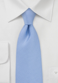 Men's Pacifc Blue Tie with Matte Finish