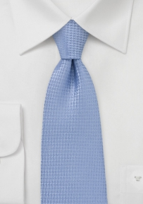 Light Blue Boys Tie in Matte Finish
