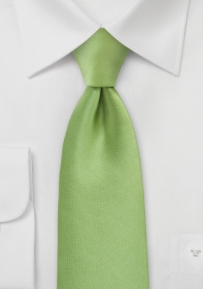 Bright Colored Tie in Green Tea