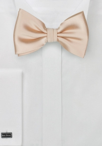Solid Bow Tie in Antique Blush