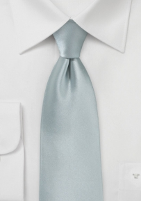 Solid Tie in Dove Gray