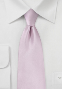 Soft Lilac Hued Boys Length Tie