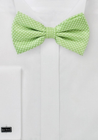 Spring Green Colored Bow Tie