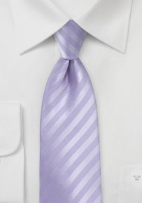 Summer XL Sized Tie in French Lavender