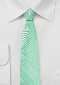 Skinny Tie in Summer Mint