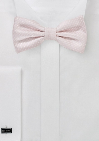 Petal Pin Dot Bow Tie
