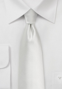 Formal Wedding Tie in Ivory