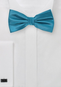 Mens Bow Tie in Peacock