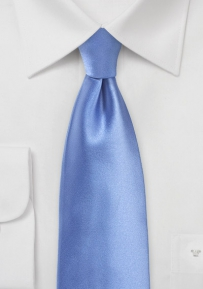 Solid Color Tie in Periwinkle