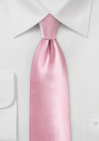 Solid Color Kids Tie in Dusty Rose