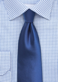 Big and Tall Necktie in Royal Blue